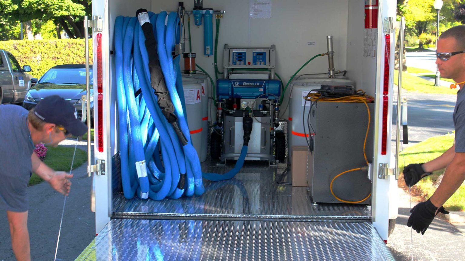 Concrete Lifting Equipment Poly Trailer System Hmi