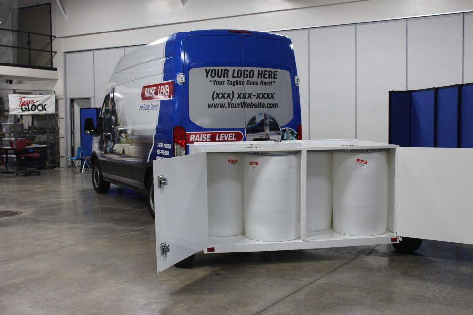 HMI | Ford Transit PolySystem - Trailer Option 1
